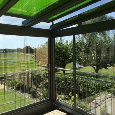 Wetterschutz für Terrasse und Garten
